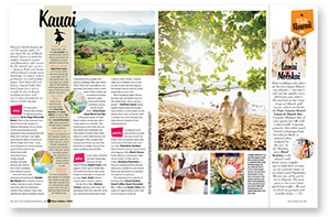 Kauai's How to Marry Hawaii 2014 from Destination Weddings magazine