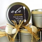 North Shore crafter Ele's Hawaiian tin can candles